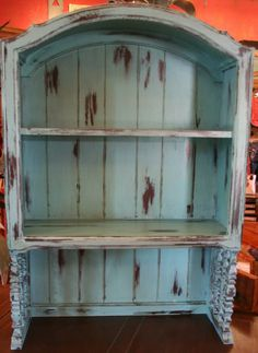 Distressed Turquoise Furniture | Portfolio