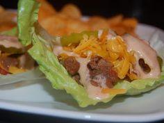 Cassie Craves: Cheeseburger Lettuce Wraps