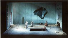 Parsifal from San Francisco Opera 2000. Production by Nikolaus Lehnhoff. Sets by Raimund Bauer.