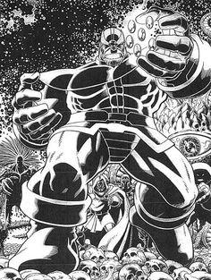 Marvel Superheroes by Art Adams, in Albert Moy's Arthur Adams Comic Art Gallery Room Comic Book Artists, Comic Artist, Comic Books Art, Marvel Comics, Marvel Villains, Marvel Dc, Black And White Artwork, Black And White Drawing, Black White