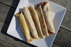 Potato and cheese vegetarian taquitos recipe