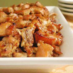 15 Hearty Chicken Appetizers  | Honey-Ginger Chicken Bites | MyRecipes.com
