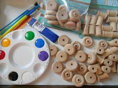 Wood bead kids project!