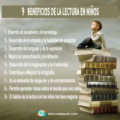 Fomentar el hábito de la lectura en niños Maila, Kids Education, Book Quotes, Literature, Parents, Self, Teacher, Letters, Writing