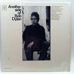Another Side of Bob Dylan Vinyl Record LP 1964 Mono Columbia Folk Blues In Shrink