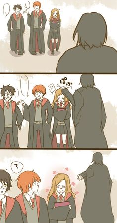 Suddenly, Hermione loves a Slytherin!