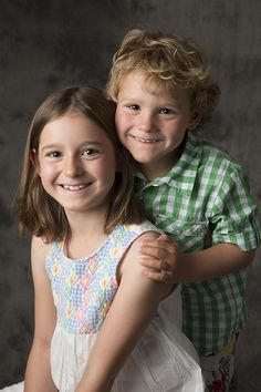 """Children's photography says, """"I love you, Sissy."""""""