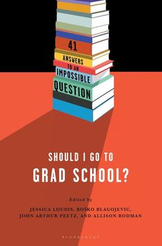 The decision to attend graduate school is easy for future doctors and lawyers: they must have a professional degree to get started. But for young creative workers, aspiring artists, and intellectuals, grad school is an existential fork in the road. An M.F.A. or a humanities Ph.D. can give you time to invest in studying something you love among like-minded intellectuals and qualify you to teach a new generation of students; but it can also uproot you geographically, expose you to backstabbing... Professor, College Admission Essay, Essay Writing Help, Academic Writing, College Application Essay, Finishing School, College Survival, Survival Tips, School Hacks