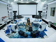 Steve Aoki's amazing studio