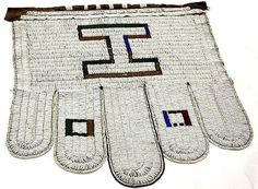 Ndebele Ijogolo Apron, South Africa
