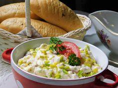 Risotto, Potato Salad, Dairy, Potatoes, Menu, Cheese, Vegetables, Ethnic Recipes, Food