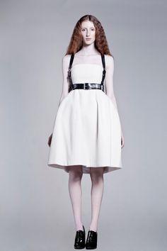 reach wool dress by AsiaWysoczyńska