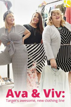 AVA & VIV: Target's New Plus-Size Clothing Line Features Uber-Chic Trendsetting Styles!