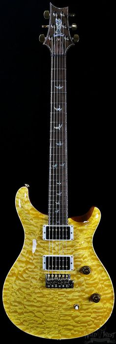 PRS Paul Reed Smith Private Stock 30th Anniversary Custom 24 Vintage Yellow   Electric Guitars   Wild West Guitars
