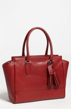 COACH 'Legacy - Medium' Leather Carryall available at #Nordstrom