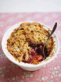 This Fabulous Plum Crumble is a Great Way to Use Fresh Plums
