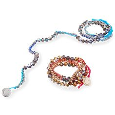 Bead and chain wrap bracelet $38    I just got these in today and I seriously LOVE them. So, so beautiful in person!
