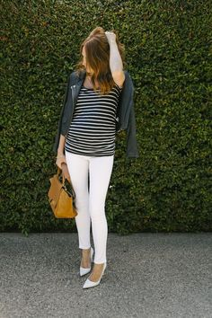 View entire slideshow: How To Wear White All Year on http://www.stylemepretty.com/collection/554/