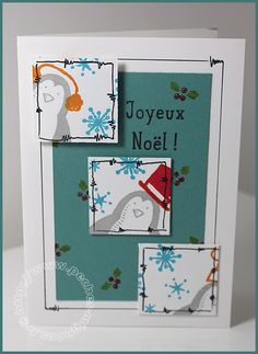 Joyeux Noël ! (Carte Scrap #416) - Stampin'up!