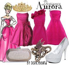 "Disney Princess Sleeping Beauty ""Aurora""-inspired Designer dresses. | Disney Bound."