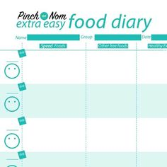slimming world meal plans pinch of nom slimming world journal slimming world meal planner