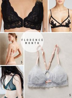 Pattern of the month: Get the Florence Bra for $5  |  Colette Blog