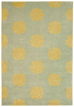 Soho Collection 424A Hand Tufted Floral Wool Rug - Safavieh Rugs | Rugs by SelectRugs.com $213.11