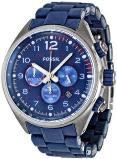 bc6452cef155 Amazon.com  Fossil Men s CH2728 Flight Blue Dial Watch  Fossil  Watches.  ArmariosPapaMujerComprarJoyasRelojes ...