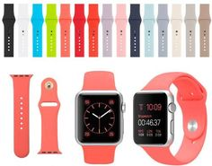 Correa Deportiva Sport Band Apple Watch 42mm Varios Colores - $ 449.99
