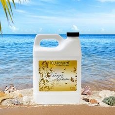 IQ Natural Sunless Tanning Solution 16oz12 for ProfessionalHome Spray Tan Lavender Scent -- Learn more by visiting the image link.