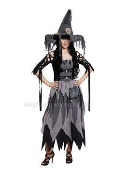 Hexe Kostüm Kleid Scary Witch