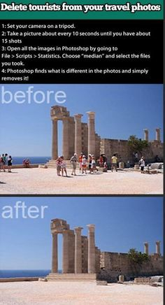 How to edit pictures.