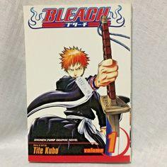 Bleach Vol 1 Shonen Jump Graphic Novel Series English Tite Kubo