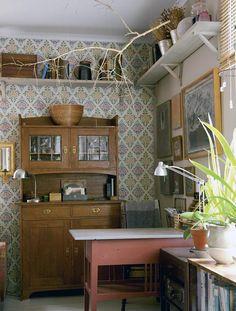 Mummolan malliin | Koti ja keittiö Koti, Scandinavian Interior, Kitchen Cabinets, Homes, Interior Design, Nice, Simple, Garden, Home Decor