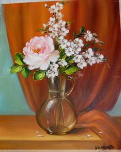 A Rosa-cor-de-rosa Dorimar Carvalho Moraes - Artelista.com - en