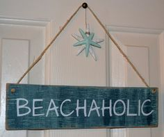 Perfect Beach Decor for the Beach Lover by CarovaBeachCrafts, $26.00