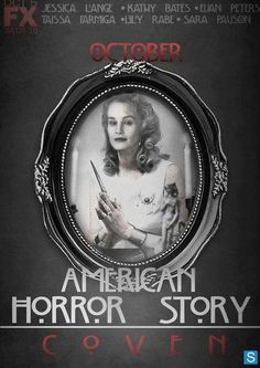 Poster - American Horror Story Saison 3 -- YES