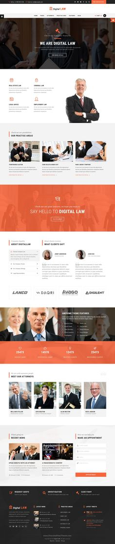 Digital Law is perfect WordPress theme for Attorney, Lawyer or Law Agency websites with 10+ header style download Now➝ https://themeforest.net/item/digital-law-attorney-lawyer-and-law-agency-wordpress-theme/15706323?ref=Datasata