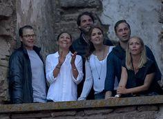 Crown Princess Victoria and Prince Daniel attended the Swedish pop singer Per Håkan Gessle's concert at Borgholm Castle