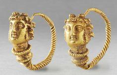 Hellenistic (Greek) Pair of Gold Earrings | 3rd century BC.