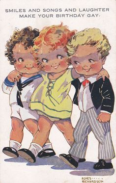 Oh and you...you definitely make your birthday gay! Agnes Richardson card