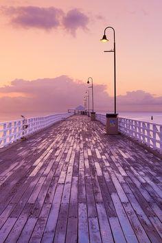 Shorncliffe Pier, Brisbane north, Australia