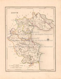 Old Map Downloads Cavan County Ireland Old Map Lewis - Ireland map download