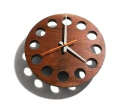 Architect Will Ullman—who has worked on large-scale projects like the W+K building and the Port of Portland's new HQ—goes small with a dazzling new furniture line. Check out these wall-mounted clocks and racks made from Japanese wood. willullmandesignart.com    Image: Courtesy Will Ullman, Courtesy Will Ullman