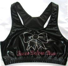 Bows over Bros Sports Bra $25  www.justcheerbows.com