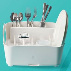 A Good Budget Product for Small Kitchens: The Tub Dish Rack from Umbra — Best Products for Small Kitchens