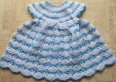 letsjustgethooking : '  BABY'S SHELLED DRESS# free #crochet patternDISC...