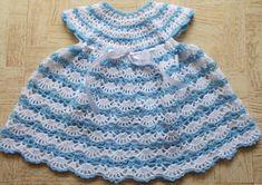 letsjustgethooking : '  BABY'S SHELLED DRESS# free #crochet patternDISC...