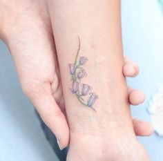 English bluebells by Hello Tattoo