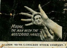 Early E.J. Moore Throwing card